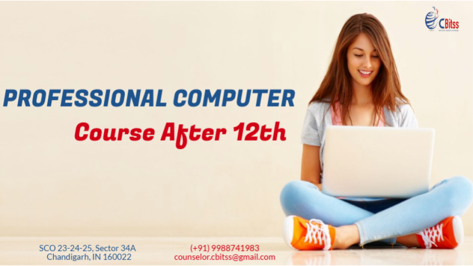 Computer courses in Chandigarh after 12th