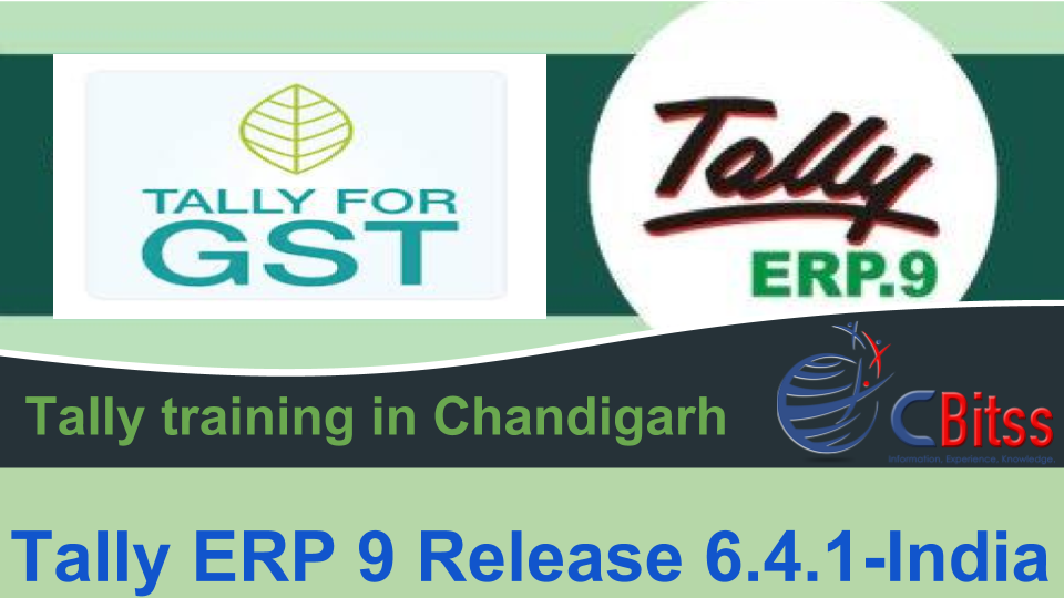 Tally ERP9 Release 6.4.1