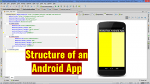 Structure of an Android App